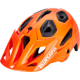 bluegrass Golden Eyes Helm orange/texture/matt